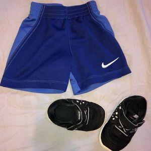Unisex Nike baby set shoes shorts 18 month 4